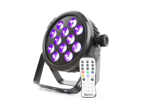 BeamZ BT300 FlatPAR LED 12x 10W 6-in-1