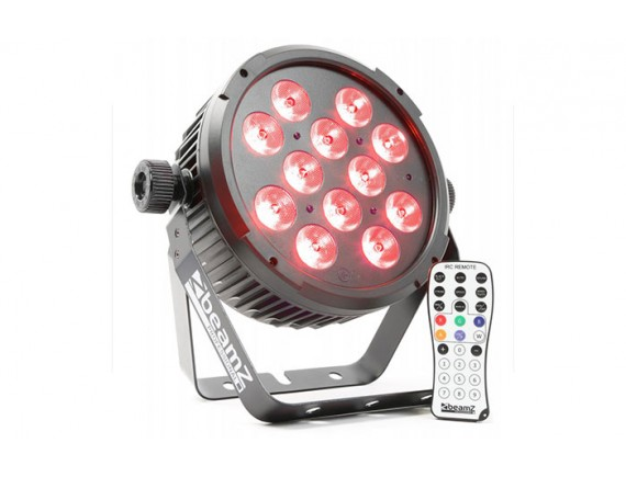 BeamZ BT310 FlatPAR LED 12x 6W 4-in-1