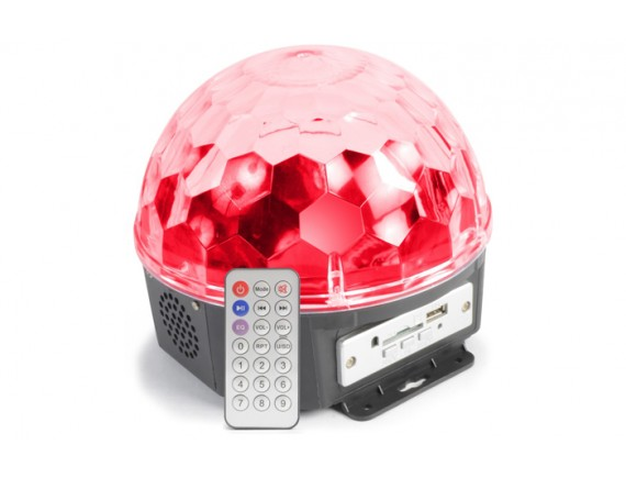 BeamZ Magic Jelly DJ Ball Mp3 6x1Watt