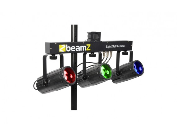 BeamZ Set Lumini 3×57 Led