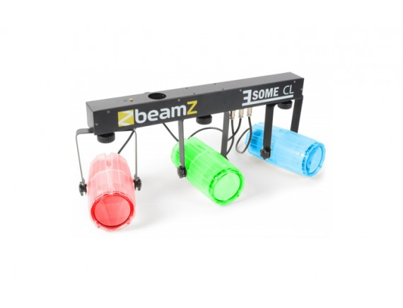 BeamZ Set lumini  3 LED-uri x 57 RGBW