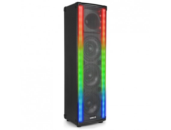 Vonyx Boxa activa Bluetooth 100W RMS LightMotion LM65
