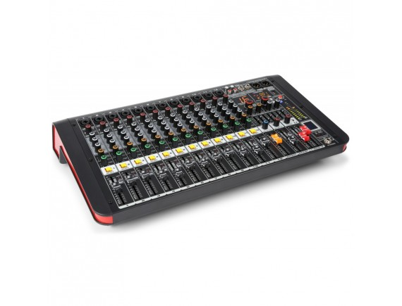 PDM-M1204A Mixer activ 12 canale 2x200W Bluetooth / USB