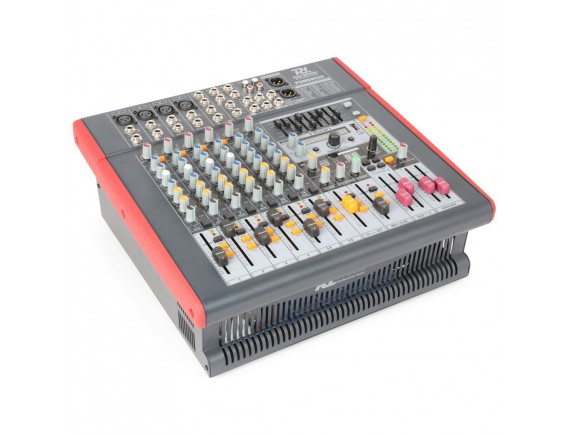 PDM-S803A Mixer activ amplificat 2x 400W 8 Channel DSP/MP3 USB IN/OU Power Dinamycs