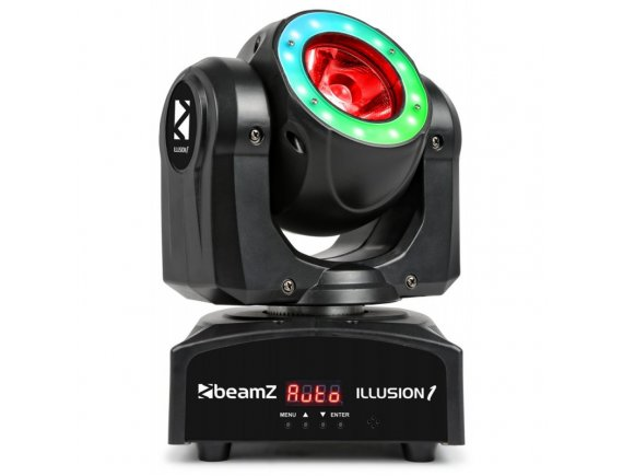Illusion Moving Head LED Beam cu inel LED 60W 4-in-1 RGBW