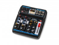 Mixer analog Vonyx VMM-P500 4x canale DSP/USB/MP3/Bluetooth