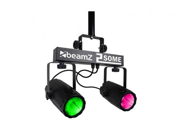 BeamZ 2x57LED-uri clear RGBW